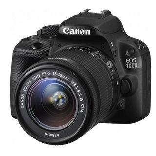 Camara reflex Canon 100D 18-55 +accesorios+funda