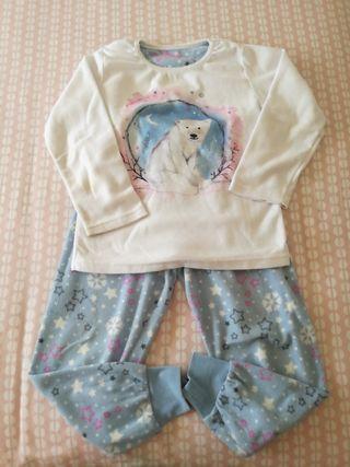 Pijama de invierno niña