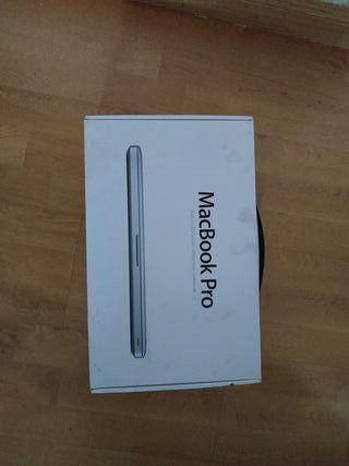Caja Macbook Pro 13 mid 2012