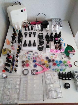 kit uñas completo