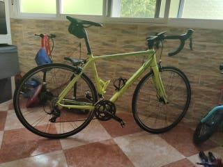 bicicleta carretera merida scultura 200 talla 52