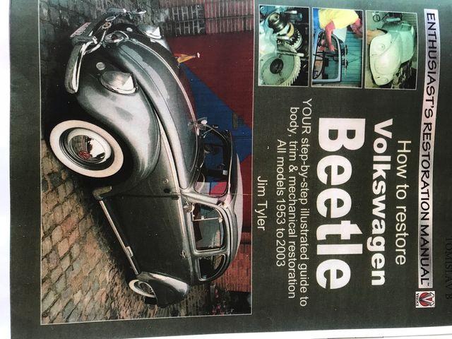 Manual restauración VW escarabajo
