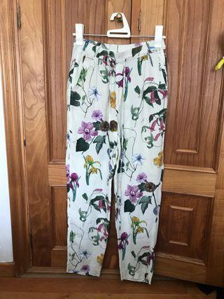 Pantalón de vestir Zara Woman