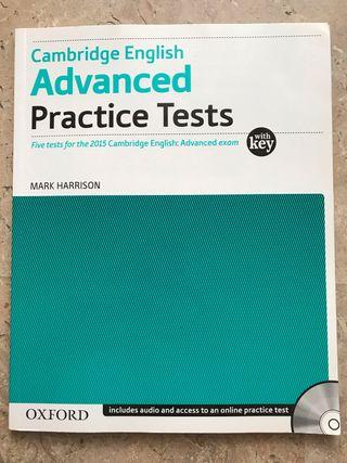 Libro de práctica inglés C1 (Advanced)
