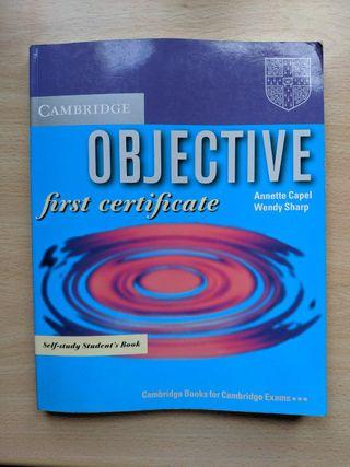 Libro Ingles Cambridge First Certificate