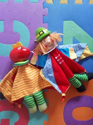 Marionetas Imaginarium príncipe y dragón