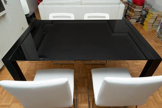 Mesa de comedor expandible