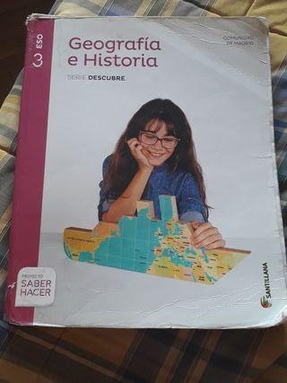 libro geografía historia 3 de eso