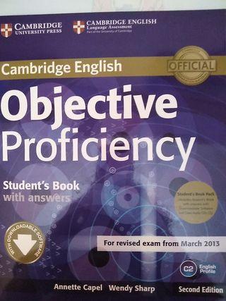 Libro de inglés para C2 de Cambridge