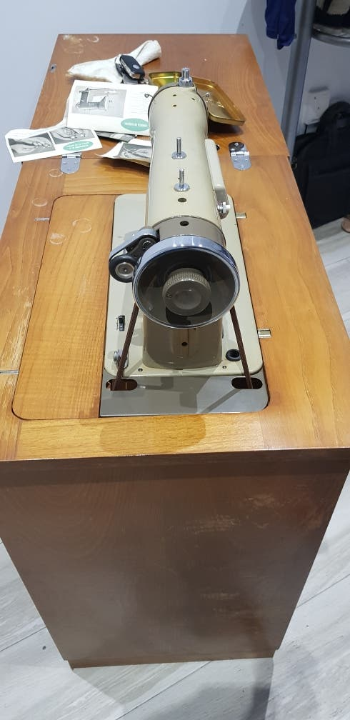 maquina de coser alfa