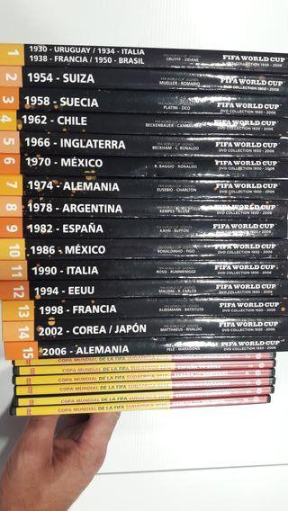Libros DVD de la historia de los mundiales