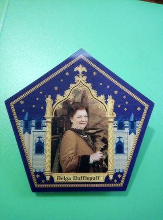 Helga Hufflepuff cromo rana chocolate harry potter
