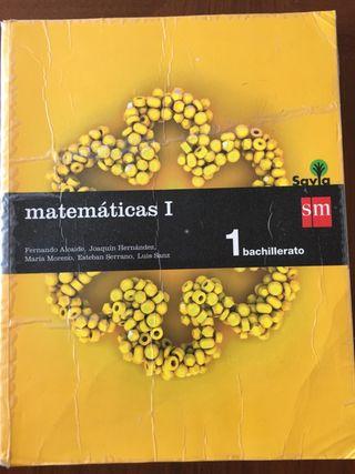 Matemáticas I bachilerato Ed. SM