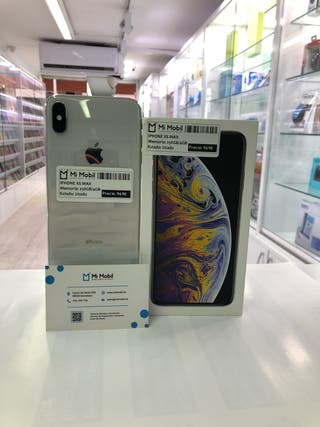 IPHONE XS MAX 256GB PLATA - USADO