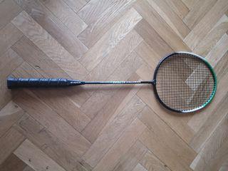 Raqueta de badminton.