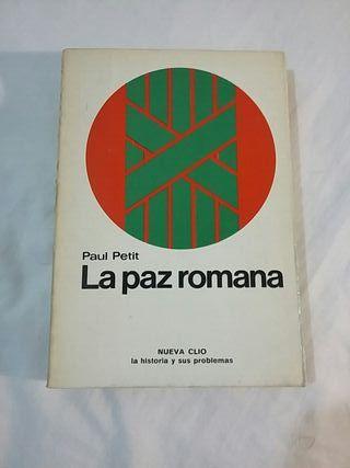 La Paz romana. Paul Petit