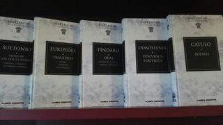 colección Gredos grandes clásicos.