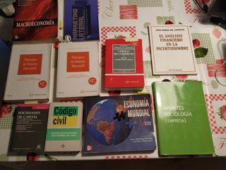 Libros para carrera de ADE o Economía