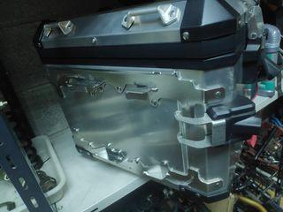 maleta original bmw r1200 gs metalica touratech