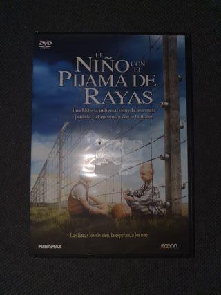 DVD - El Niño con el Pijama de Rayas - Precintada