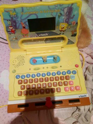 ordenador bob esponja