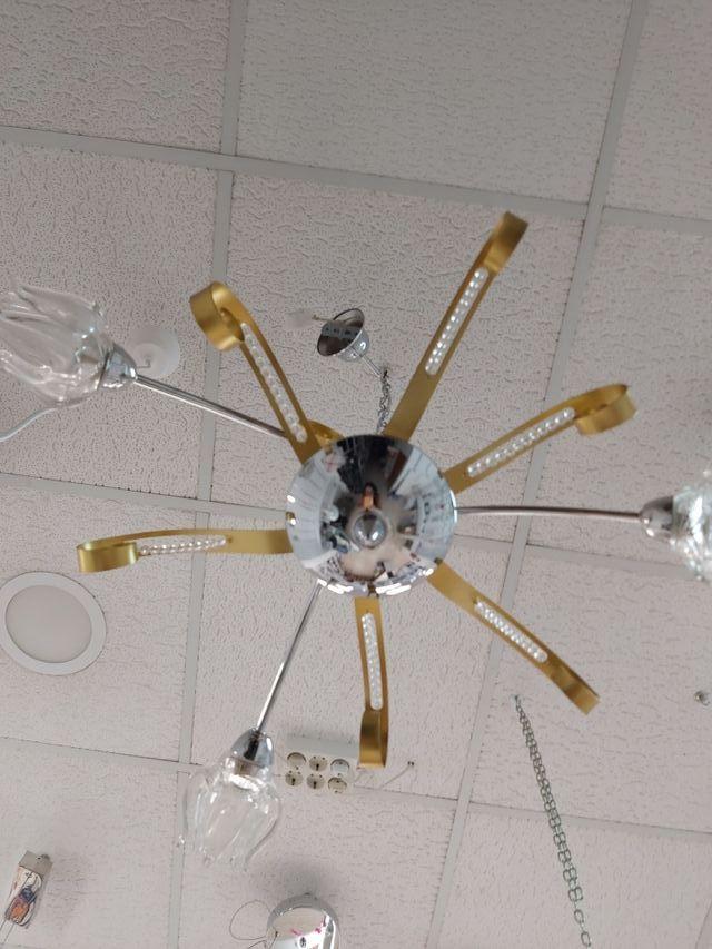 Lámpara Colgante a varias alturas 3 luces