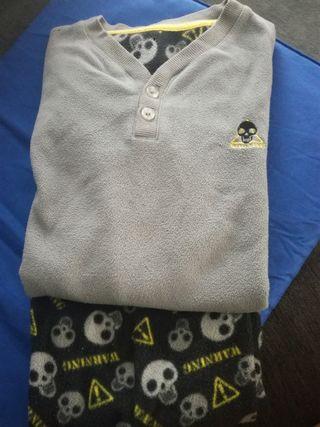pijama niño talla 7