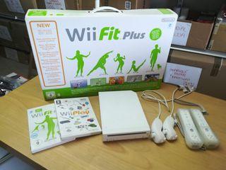 Consola Wii NUEVA + tabla Wii Fit + juegos