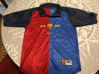 Camiseta Centenario FCB niño