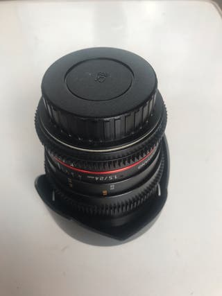 Samyang 24mm Canon f1.5/22