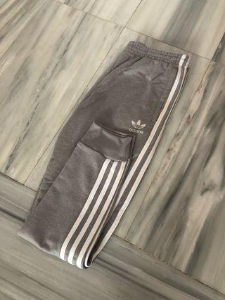 Pantalones Adidas grises