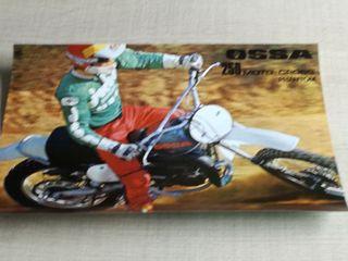 CARTEL DOBLE CARA OSSA 250 MOTO-CROSS PHANTOM.