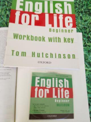 LIBRO DE TEXTO ENGLISH FOR LIFE BEGINNER