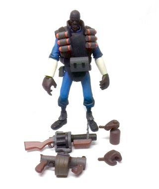 Neca Toys TEAM FORTRESS BLUE 6