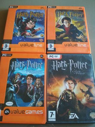4 Juegos Harry Potter (PC)