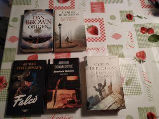 Novelas de varías categorías