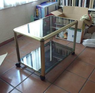 Camarera / mesa auxiliar de cristal