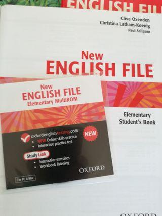LIBRO DE TEXTO NEW ENGLISH FILE ELEMENTARY