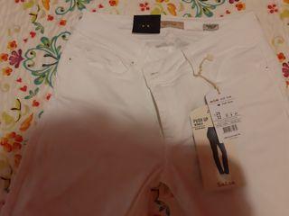 Pantalon vaquero blanco salsa jeans