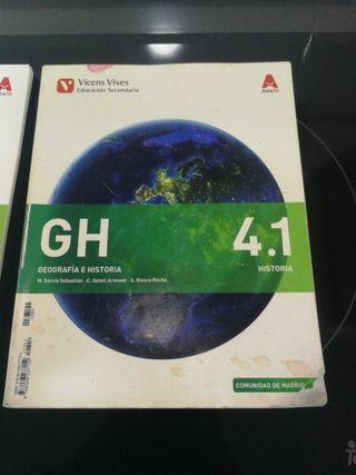 Libro de geografía e historia 4 ESO Vicens Vives