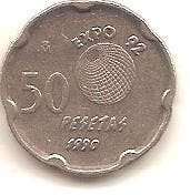 50 PTS 1990,EXPO 92.