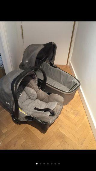 Capazo + silla de coche para bebé JOIE