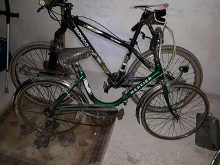 bicicleta paseo clásica plegable altura rueda55cm