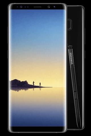 Galaxy Note 8 impoluto.
