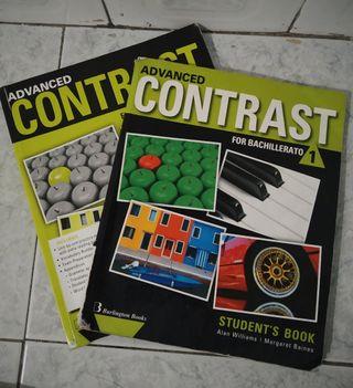 Libros de inglés advanced contrast
