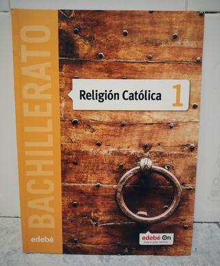 Libro Religión Católica 1 bachillerato edebé