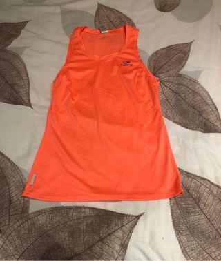 Camiseta deportiva naranja