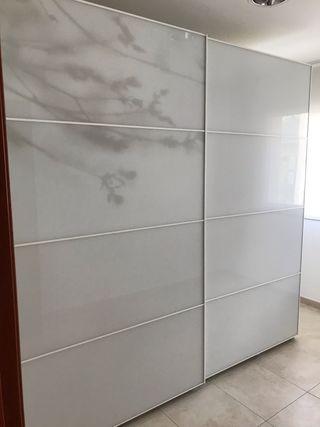 Puertas armario pax 250 ikea