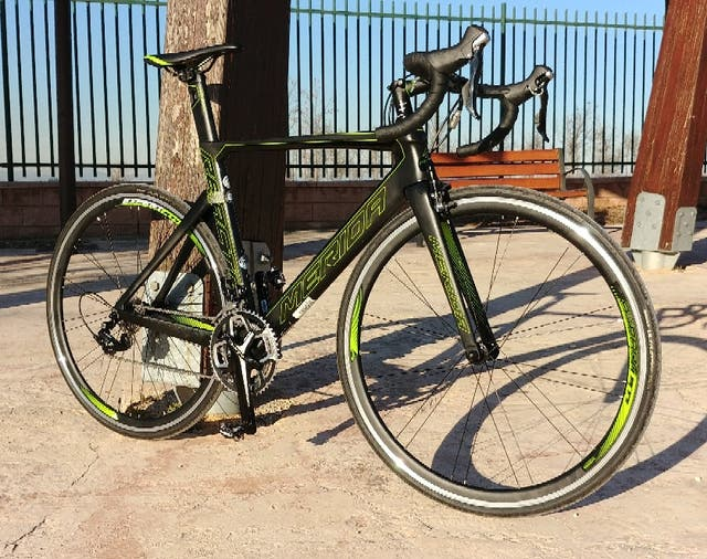 Bicicleta de carretera carbono, Mérida Reacto 4000