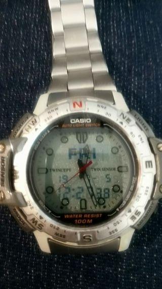 reloj casio PRO TREK altímetro barómetro alarma
